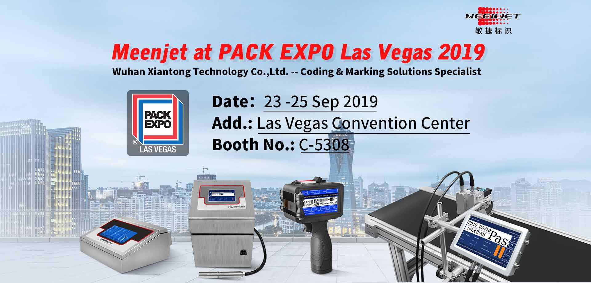 Pack Expo 2019 Meenjet
