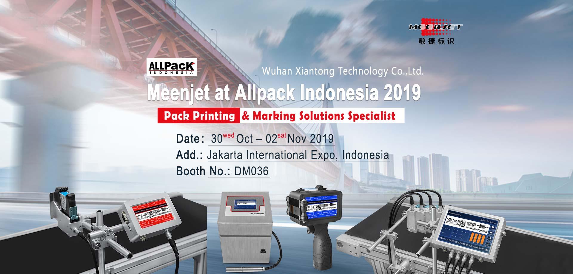 meenjet allpack indonesia 2019