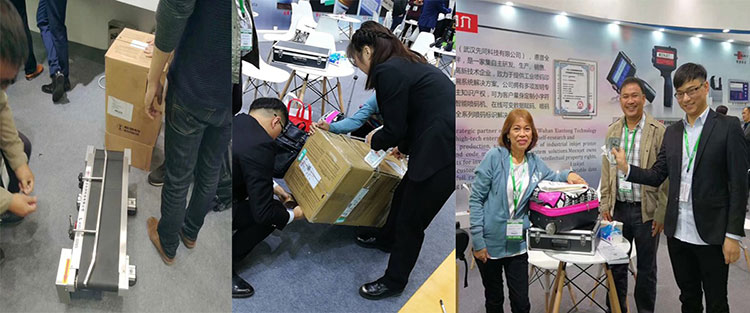 Sino-Pack China 2018 ( Inkjet coding Machine ) Exhibition Ended Perfectlly!