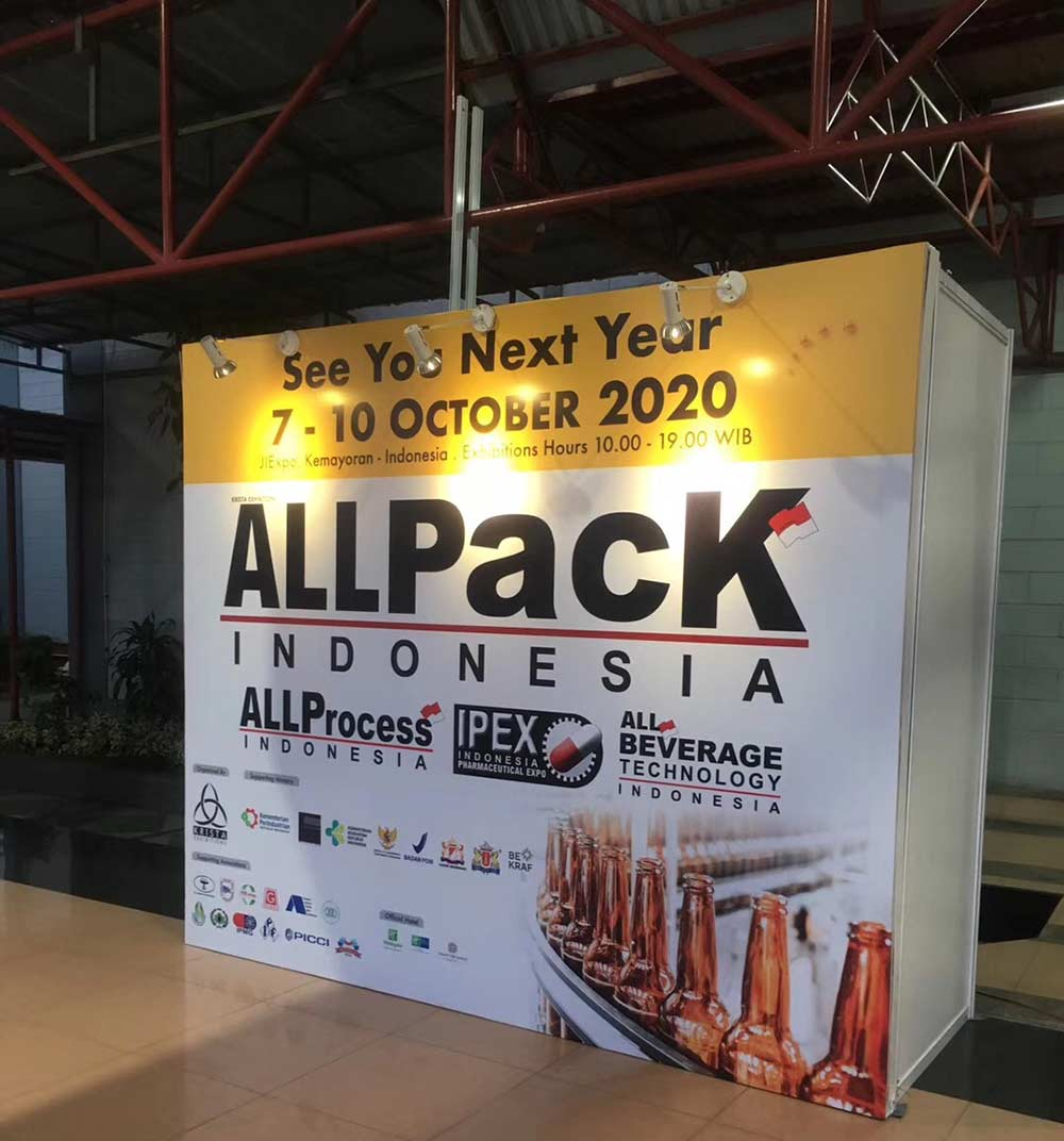 Meenjet At AllPack 2019 Indonesia