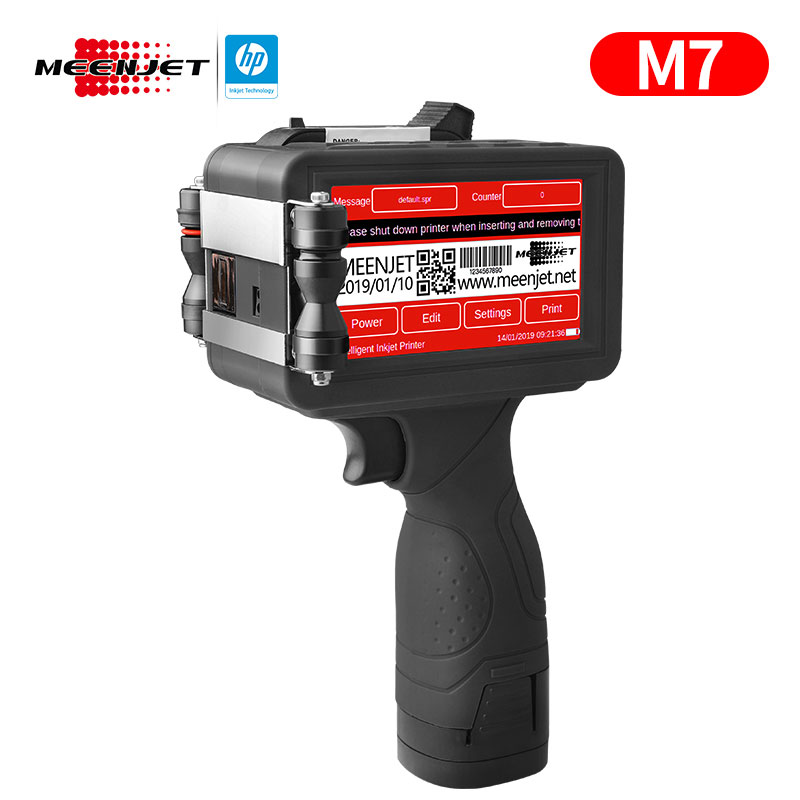 Handheld Inkjet Printer M7