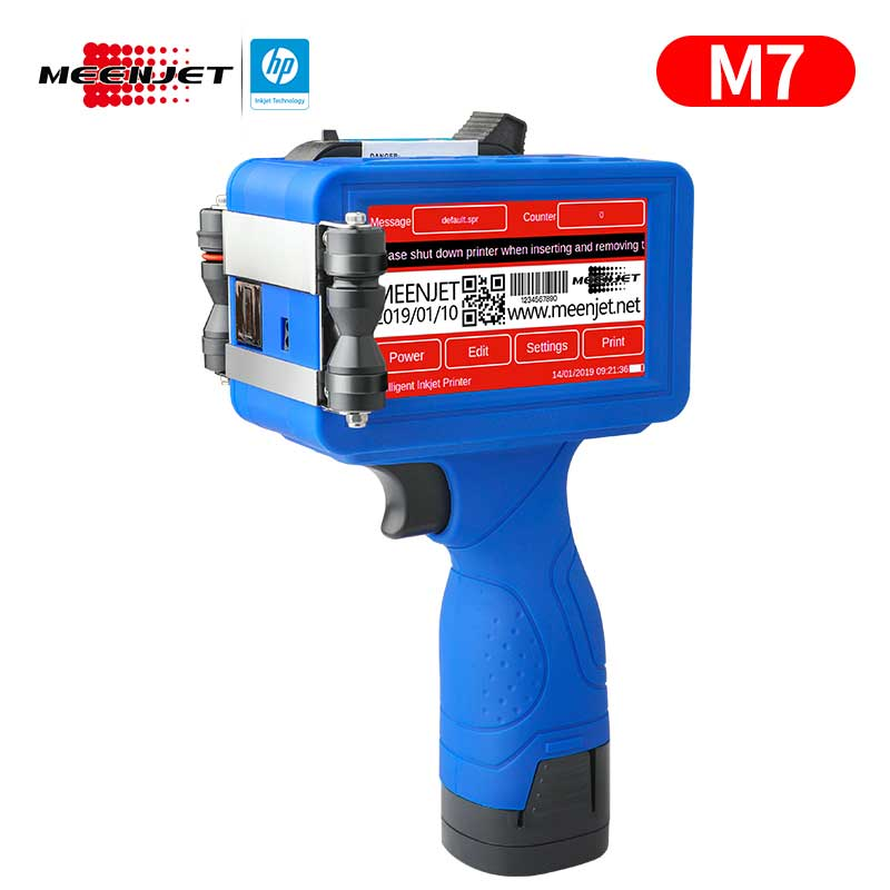 Meenjet Handjet Coding Printer M7