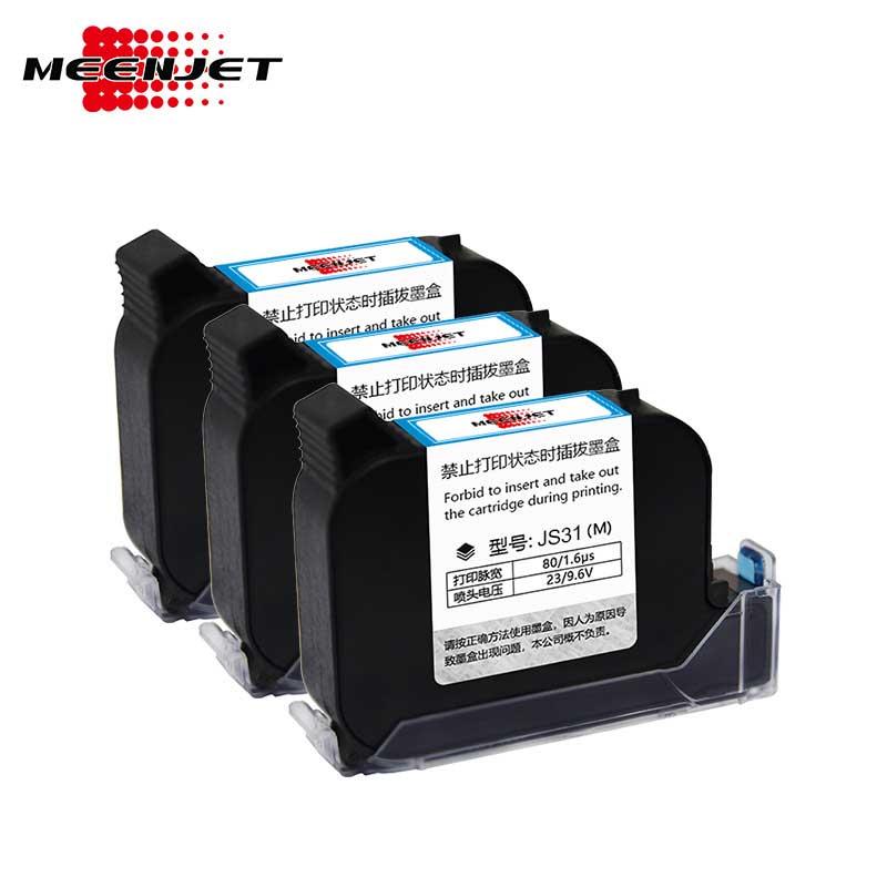 Red Solvent Ink Cartridges for Printer