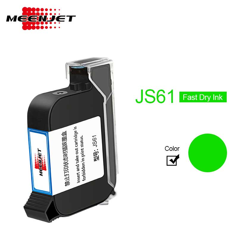 Green Ink Cartridges JS61